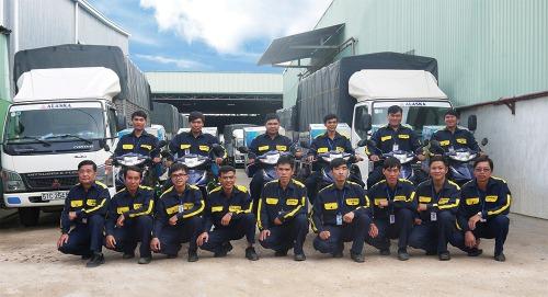 Đội ngũ bảo hành Alaksa Việt Nam