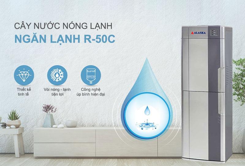 máy nước uống nóng lạnh Alaska R-50C