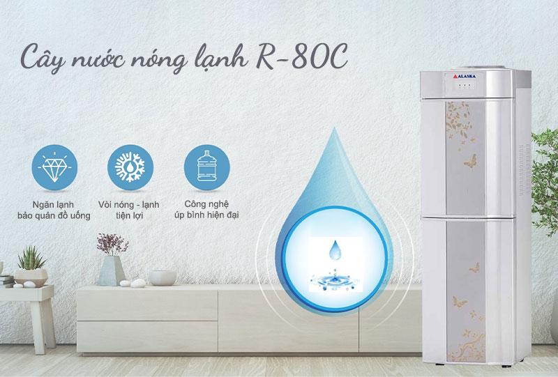 Máy nước uống nóng lạnh Alaska R-80C