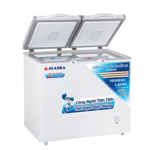 Tủ đông mát Alaska BCD-3068C dung tích 250 lít