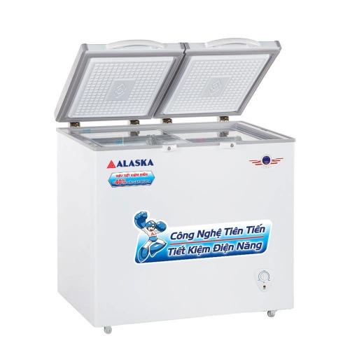 tủ đông mát alaska dung tích 450 lít BCD-4568N