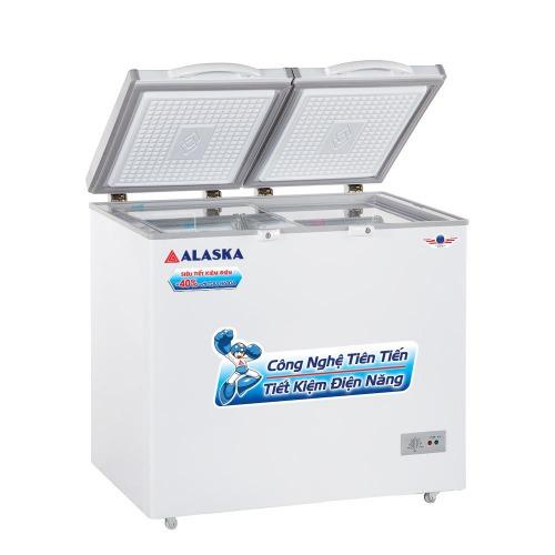 Tủ đông mát Alaska BCD-5567N dung tích 550 lít