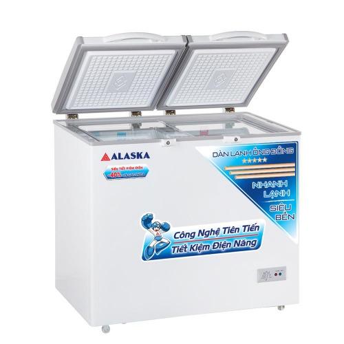Tủ đông mát 2 ngăn Alaska BCD-5068C dung tích 500 lít