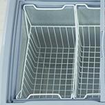 Tủ đông có 2 giỏ chứa