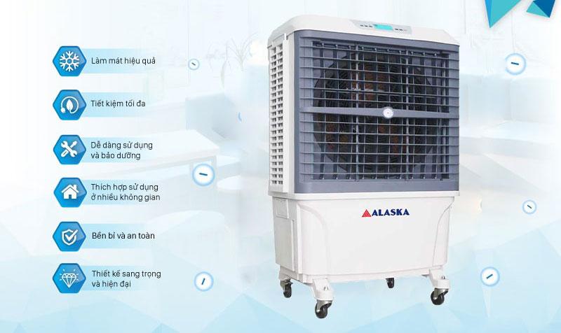 Quạt hơi nước Alaska AW8R1