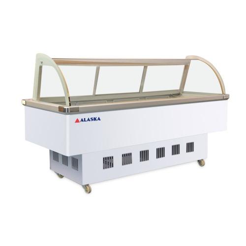 Quầy thịt nguội Alaska SC-2000Z Hệ thống làm lạnh trực tiếp