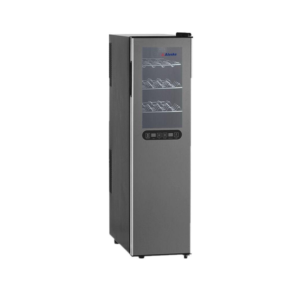 Tủ ướp rượu vang Alaska JC-18DB làm lạnh điện tử