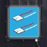 Tủ ướp rượu vang Alaska JC-18TB làm lạnh điện tử
