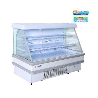 Quầy siêu thị SMV-25EDàn lạnh và dàn nóng bằng đồng.