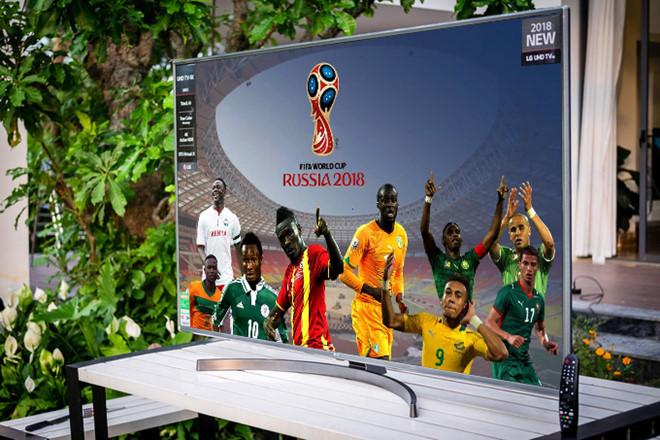 4 mau TV LG man hinh lon hut khach mua World Cup hinh anh 2