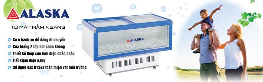 Tủ mát Nằm Ngang Alaska