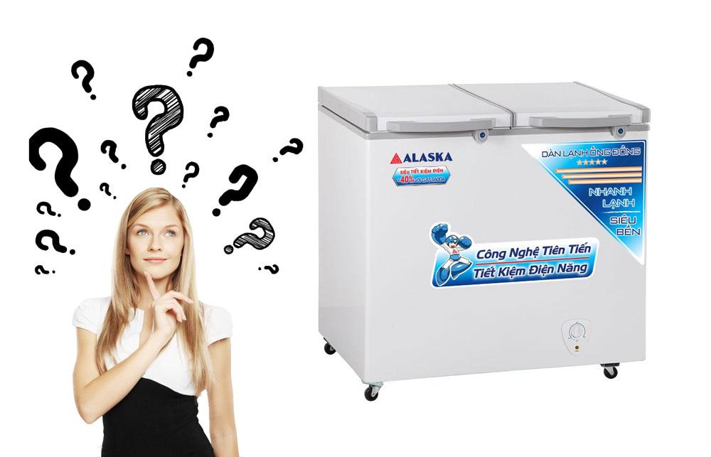 giá tủ đông alaska inverter là bao nhiêu?