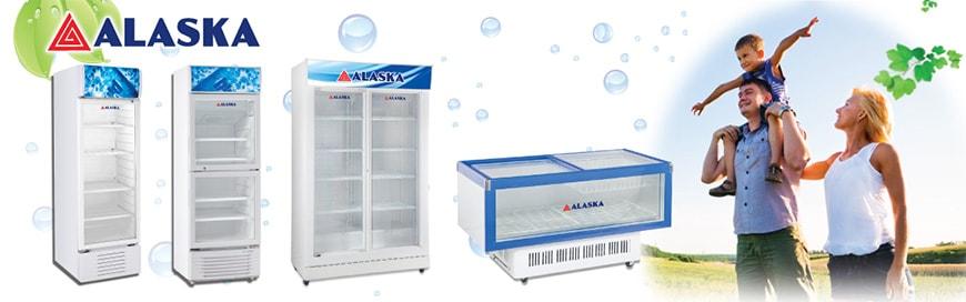 khám phá công nghệ được ứng dụng trên tủ mát alaska