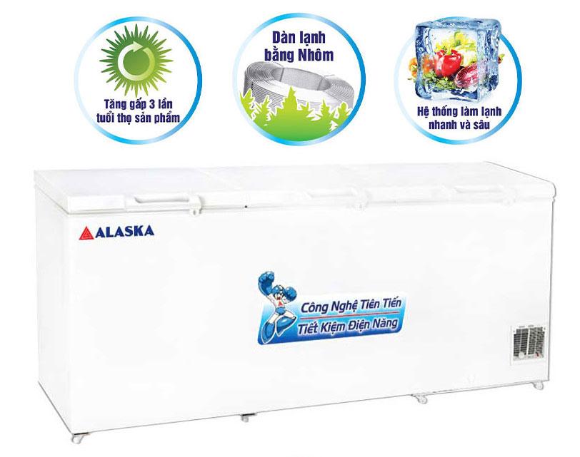 Tủ đông Alaska HB-1400