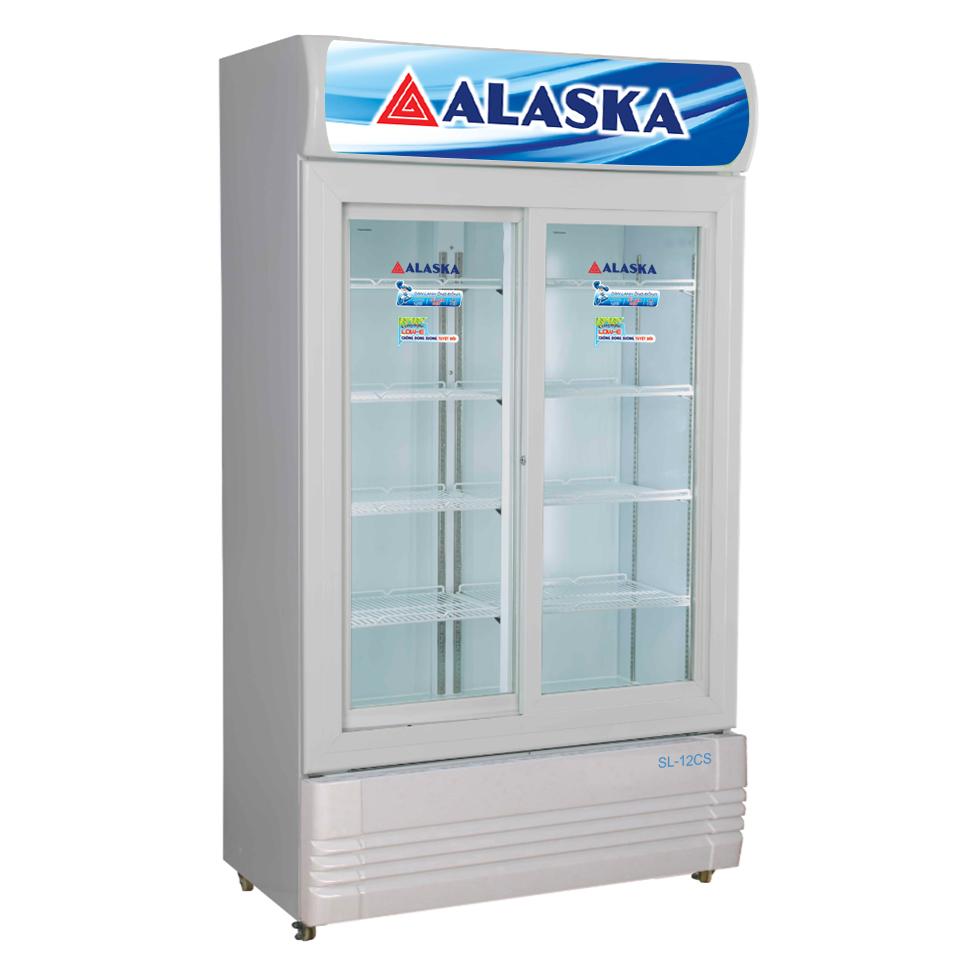 Tủ mát Alaska SL-12CS dung tích 1200 lít cửa kính lùa tự động đóng