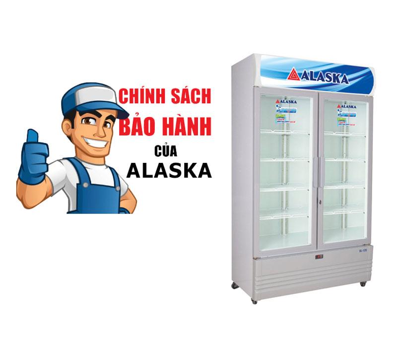 bảo hành tủ đông tủ mát alaska
