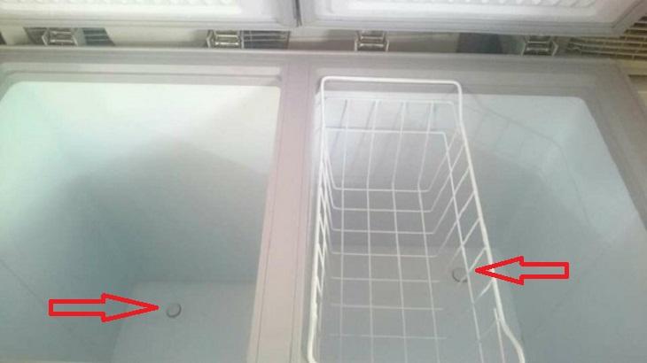 nguyên nhân tủ đông bị chảy nước