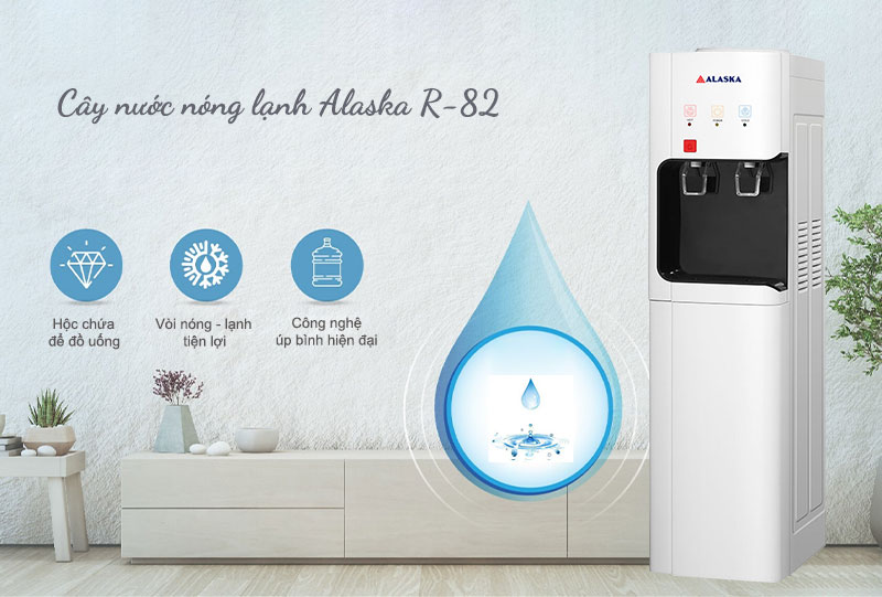 Máy nước uống nóng lạnh Alaska R-82