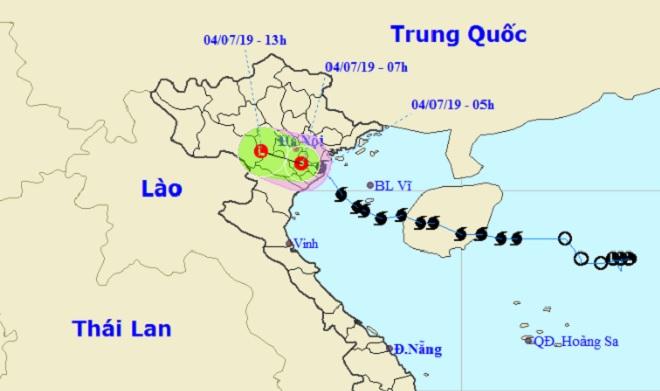 Tin mới nhất về bão số 2 đổ bộ đất liền Hải Phòng-Nam Định
