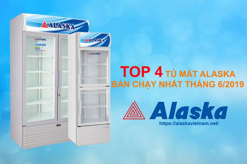 Top 4 tủ mát Alaska bán chạy tháng 6/2019