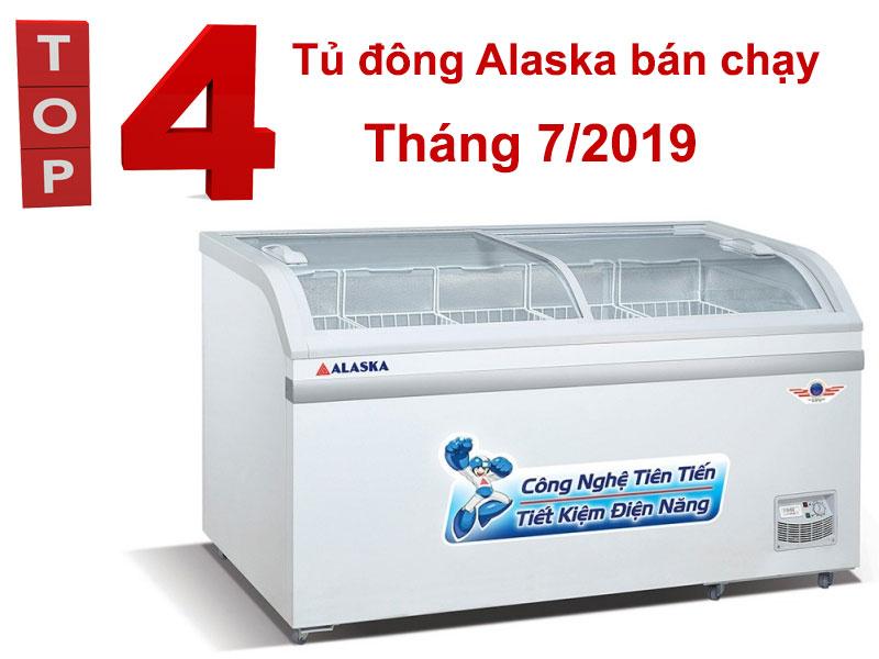 Top 4 model tủ đông Alaska bán chạy tháng 7/2019