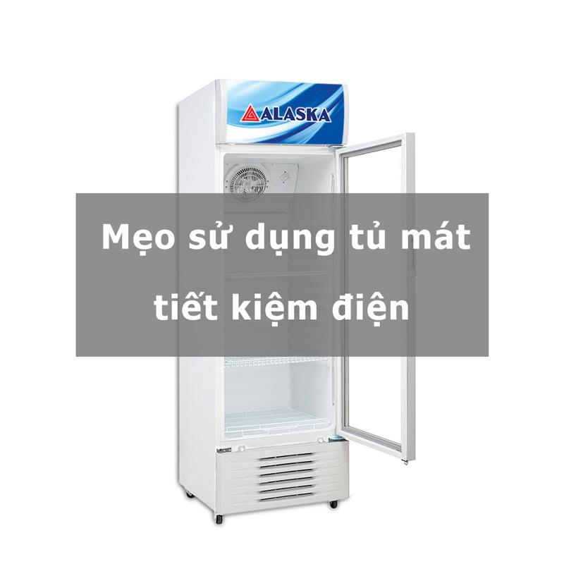 sử dụng tủ mát tiết kiệm điện