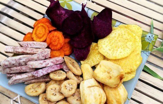 Làm hoa quả sấy với lò nướng cực đơn giản cho ngày tết