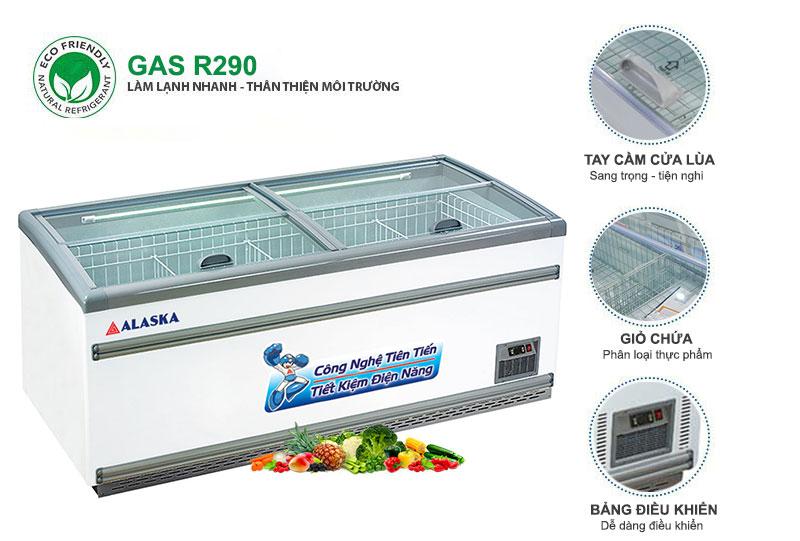 Tủ đông Alaska KN-650