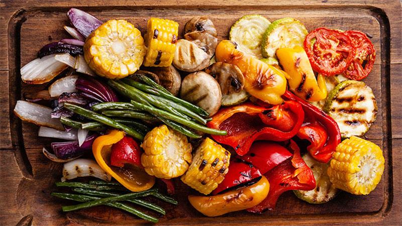 Nhiệt độ và thời gian nướng các loại rau củ