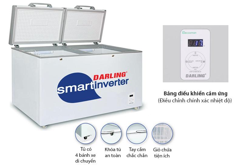 Tủ đông Darling Smart Freezer DMF-2699WSI